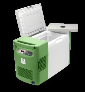 covid 19 Impfstoff Transport Box ist auf